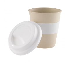 Eco Bamboo-to-Go 350 ml Becher bedrucken