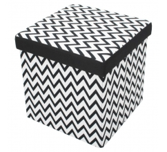 Foldable Storage Pouffe Mix & Match bedrucken