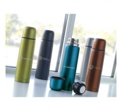 Frosted Bottle 500 ml Thermoflasche bedrucken