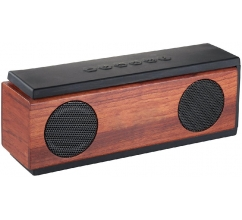 Native Wooden Bluetooth® Lautsprecher bedrukken