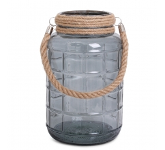 SENZA Glass Jar Large Transparant bedrucken