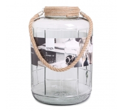 SENZA Glass Jar XL Grey bedrucken