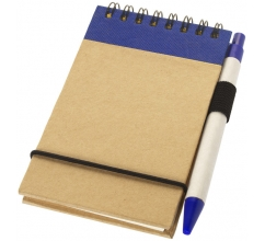 Zuse A7 Recycling Notizblock mit Stift bedrucken